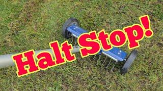 Rasen vertikutieren ACHTUNG STOP! Warum du noch nicht vertikutieren solltest