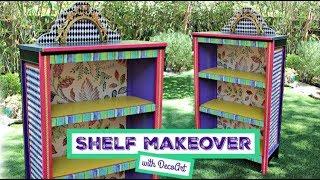 DIY: Mackenzie Childs-Inspired Bookcase