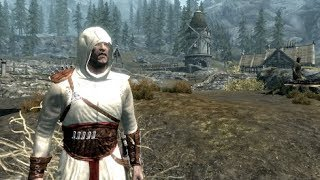 Skyrim Assassin's Creed Robe Showcase