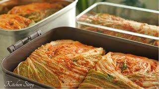 គីមឈី [Napa Cabbage Kimchi]ម្ហូបកូរ៉េ[Kitchen Story]