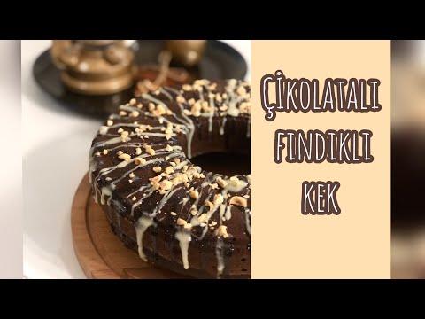 Çikolatalı Fındıklı Kek