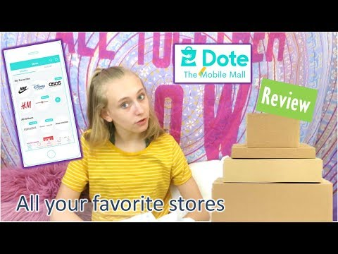 I Tried the Online Mall Dote Shopping App | Clothing Haul and Try On