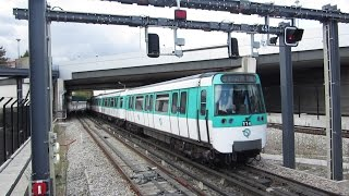 preview picture of video '[Paris] MF77 - Métro 8 Créteil Pointe du Lac'