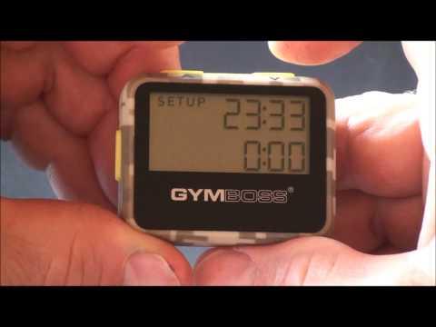 Gymboss Timer Setup and Operating Tips