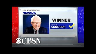 CBS News projects Bernie Sanders will win the Nevada caucuses