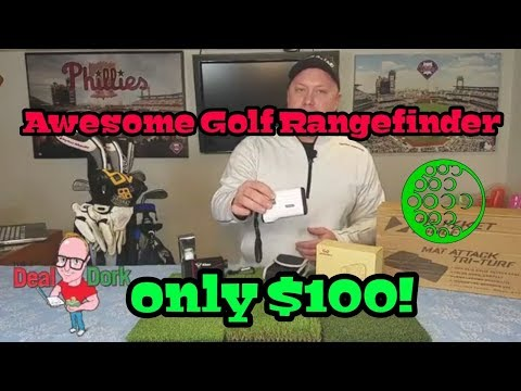 WoSports Golf Laser Rangefinder With Slope and Pinseeker Costs Only $100