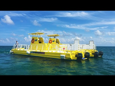 Underwater Boat SubSee Tour in Cancun, Mexico