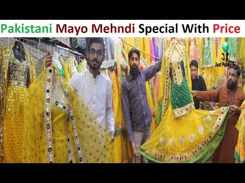 be219ea229 Pakistani Special Mehndi Mayo Dresses With Price    Mayo Gali Paposh Cloth  Market - Free video search site - Findclip   Just Public Tv - Nhạc Mp3  Youtube