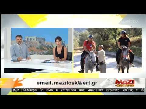 Πήλιο: Περιπολίες πυρασφάλειας με άλογα | 28/07/2019 | ΕΡΤ