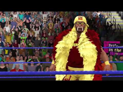 WWE2K17 April Week 4 Smackdown Match 5 Chris Jericho Vs Hulk Hogan