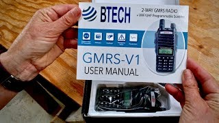 Testing Baofeng GMRS-V1 Radios | Mountain View Ranch | USNERDOC