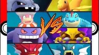 Slowking  - (Pokémon) - Pokémon GO Gym Battles ⭐ Level 10 ⭐ Gym Feraligatr Gengar Venusaur Alakazam Slowking Muk & more