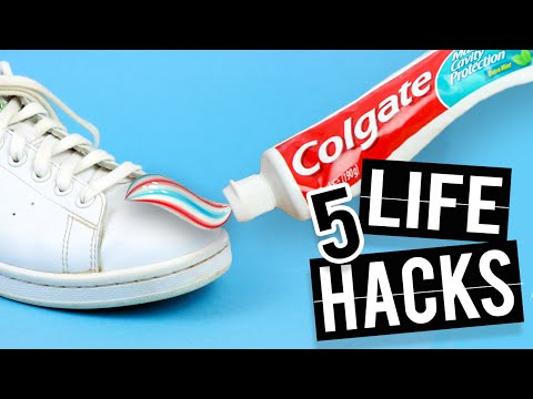 5 LIFE HACKS that will change your life - Waterproof shoes and more!