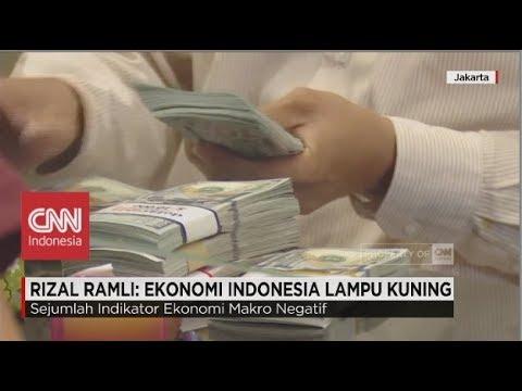 Rizal Ramli: Ekonomi Indonesia Lampu Kuning
