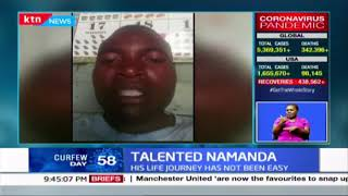 Talented Namanda: His life journey has not been easy| KTN Sports full bulletin