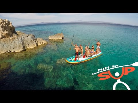 Tutt'in SUP - Sardinia SUP Tours - season 2016