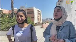 طالبة من كمال جنبلاط تعبر عن شعورها بانتهاء الامتحانات