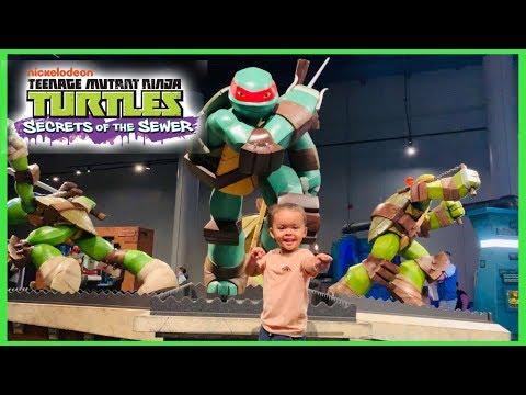 Teenage Mutant Ninja Turtles Secrets Of The Sewer
