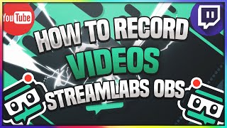 😱How To Use And Record With StreamLabs OBS (How To Record Your Screen For FREE 2018)😱