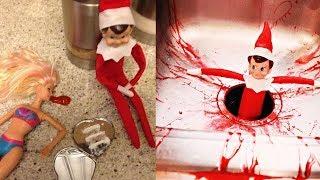 Horrible Elf on the Shelf Ideas!
