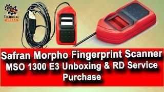 Morpho MSO1300E3 Biometric Fingerprint Scanner Unboxing & RD Service Purchase Tutorial.