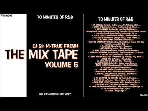 "RnB Non Stop Mix ""The Mix Tape Vol.5"" 70 MINUTES OF R&B Mp3"