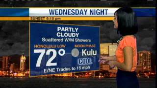 Hawaii Weather: Sunnier Skies Over Next Couple Of Days