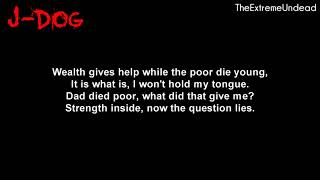 Hollywood Undead   Nobody's Watching [Lyrics Video]
