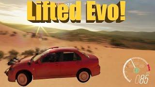 Forza Horizon 3 LIFTED Evo VIII Off-Road Build + Jumping Dunes!