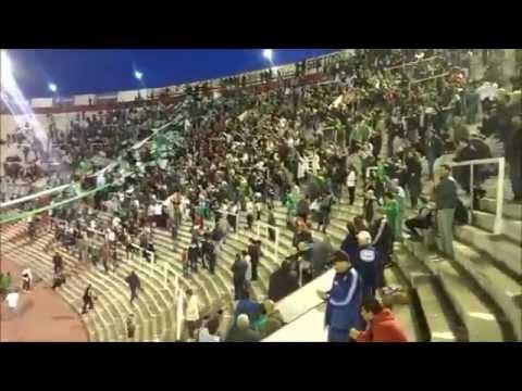 """Al verdolaga siempre lo sigo / Ferro vs Central (en Huracan) 2015"" Barra: La Banda 100% Caballito • Club: Ferro Carril Oeste"