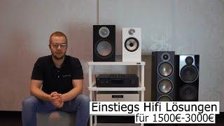 Einsteiger HiFi Lösungen unter 3000€ für Lautsprecher, Verstärker & Streamer - klingt das?