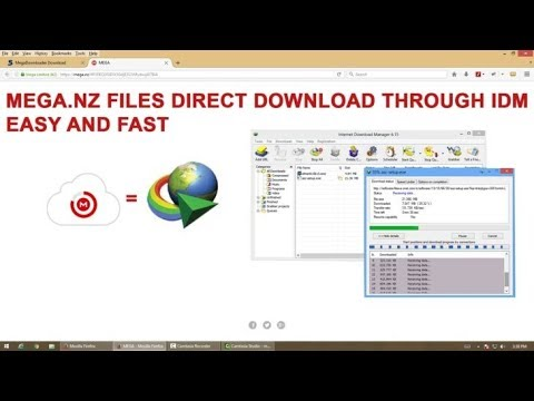 How To Download MEGA files directly through IDM(internet download