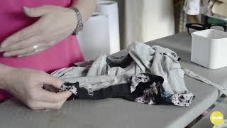 How to sew a hem with an overlocker