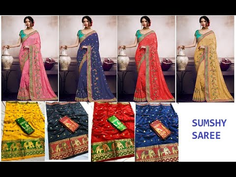 Ladies Silk Kashmiri Saree