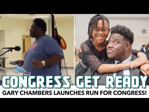 Gary Chambers Launches Run For Congress!