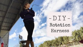 DIY ROTATION HARNESS for Figure Skating//how to make an off-ice harness