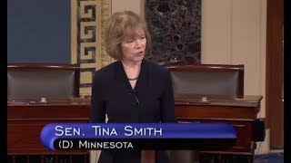 Sen Tina Smith Blasts Trump Supreme Court Nominee
