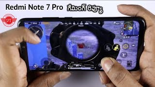Redmi Note 7 Pro Gaming Review ll in Telugu ll