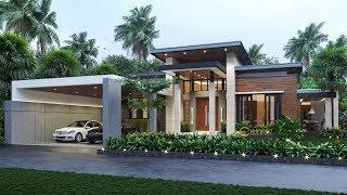 Video Desain Rumah Modern 1 Lantai Ibu Fanny di  Sambas, Kalimantan Barat