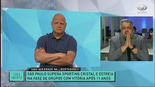 O CAMPEÃO VOLTOU? COMENTARISTAS DISCUTEM SOBRE A BOA FASE DO SÃO PAULO | JOGO ABERTO