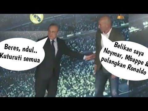 Alasan Zidane Kembali Melatih Madrid Diluar Dugaan | Zinadine Zidane Pelatih Real Madrid