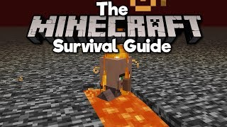 Transporting Villagers... Using Lava! ▫ The Minecraft Survival Guide [Part 212]