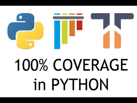 100% Code Coverage in Python