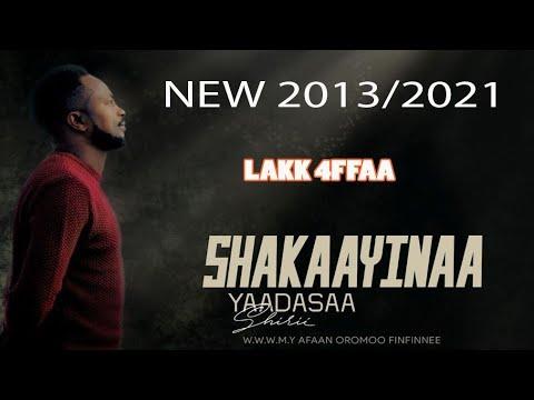 Albuma Faar. Yadasaa Shirii  lakk 4ffaa #Shakaayinaa