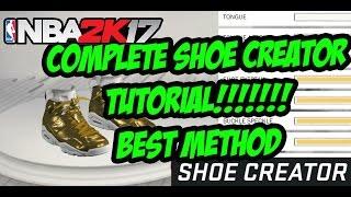 NBA 2K17 Shoe Creator Air Jordan Retro 4 Pure Money
