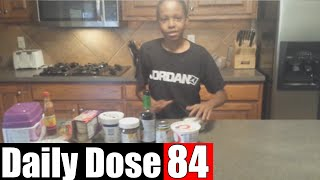 #DailyDose Ep.84 - BEHIND THE SCENES: What's In My Mouth Challenge! | #G1GB