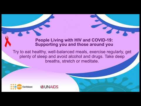 AUDIO message on People Living with HIV : Supporting you and those around you –Eat healthy