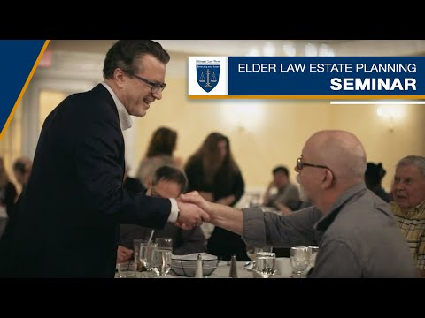 Video - Michael Ettinger's Elder Law Estate Planning Seminar