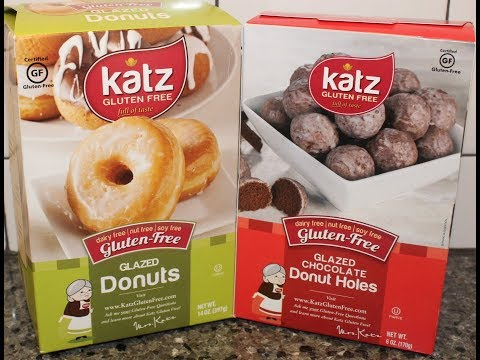 Katz Gluten Free: Glazed Donuts & Glazed Chocolate Donut Holes Review