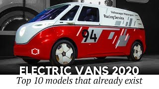 10 All-Electric Vans and Passenger MPVs of 2020 (Pricing and Technical Data)